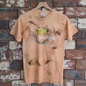 Bleached Kurt Cobain t-shirt